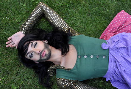 EXCLUSIVE: Austria's bearded drag queen taking on the Eurovision Song Contest